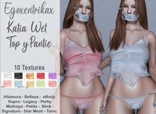 ::EGO - Katia Wet Top & Pantie:: 10 Colors