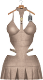 JF Design - Sherry Dress - Leather Bisque