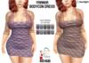 :: SA ::  Yaanha - Bodycon Dress with HUD - Plaid