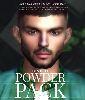 POWDER PACK FOR HIM JUNE 21' (LELUTKA EVOLUTION)