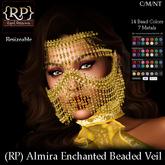 (RP) Almira Enchanted Beaded Veil Hudded