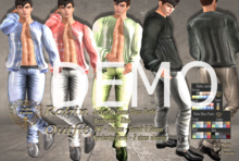 DEMO - Nala Design - Robin Male Outfit - All Mesh Bodies