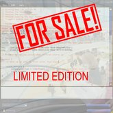 Sale Script for a Limited Edition