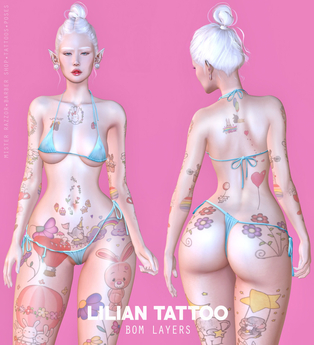 ((Mister Razzor)) Lilian Tattoo
