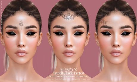((Mister Razzor)) Isadora Face Tattoo ADD-ON BOM for LelEVOX