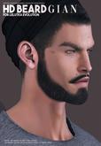 ((Mister Razzor)) HD BEARD Gian for Lelutka Evolution 2.5