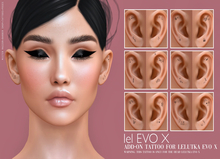 ((Mister Razzor)) Ear Tattoo ADD-ON Serie 1 LEL. EVO X