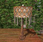 CJ Boho Macrame Table Lamp