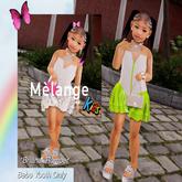Melange Kids- Briana Romper Fatpack [Bebe Youth]
