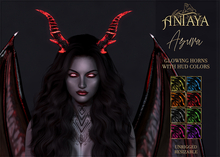 ":: ANTAYA :: Glowing horns ""Asura"" FATPACK (wear)"