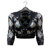 Little Fox - Kelsey satin blouse // pattern 5