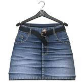 Little Fox - Kelsey jeans skirt // washed