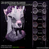 NS Spunkers glasses Canis/Lupus