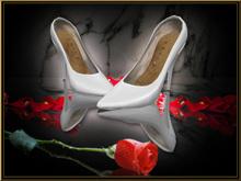 The feel of a sexy Stiletto: Je t'aime Pumps Stiletto *Diana* white