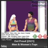 [MC] Out Proud [2021] top - men & women's (wear to unpack)