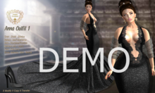 DEMO - Nala Design - Anna Gown Outfit - Mesh Bodies
