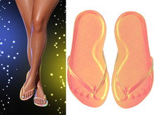 !PCP :: Summer Flip Flops [Holo Rainbow]