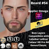 #TS# Beard #54 BOM - Lel Evo/Catwa HD Pro/AK/ Classic