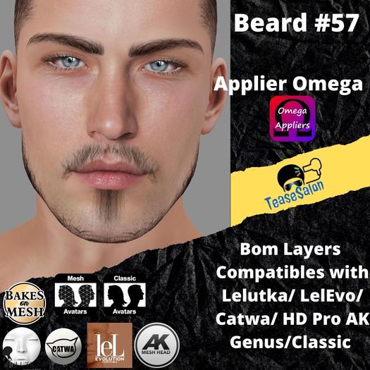 #TS# Beard #57 BOM - Lel Evo/Catwa HD Pro/AK/ Classic