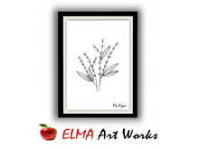ELMA Art Works ❀ Flower 1