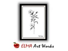 ELMA Art Works ❀ Flower 5