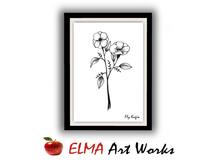ELMA Art Works ❀ Flower 8