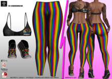 **MARCHA PJ GLS PRIDE STYLE COMPLET OUTFIT** (WEAR)