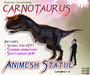 CARNOTAURUS ~ Animesh Ornamental Statue