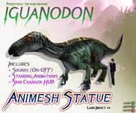 IGUANODON ~ Animesh Ornamental Statue