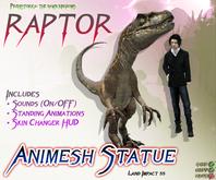 RAPTOR ~ Animesh Ornamental Statue