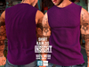 [INSIGHT] Sleeveless t-shirt *KARLOS* PURPLE