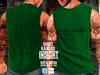 [INSIGHT] Sleeveless t-shirt *KARLOS* GREEN
