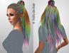 Fairodis merilyn hair rainbow poster2