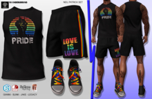 **NEIL PATRICK PRIDE STYLE COMPLET OUTFIT** (WEAR)