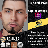 #TS# Beard #60 BOM - Lel Evo/Catwa HD Pro/AK/ Classic