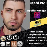 #TS# Beard #61 BOM - Lel Evo/Catwa HD Pro/AK/ Classic