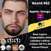 #TS# Beard #62 BOM - Lel Evo/Catwa HD Pro/AK/ Classic