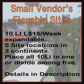 Small Vendor Sites