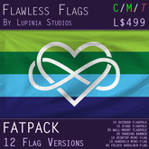 Poly Pride Flag (Fatpack, 24 Versions, New Design Update!) - 50% OFF - PRIDE MONTH SALE