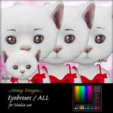 .:.H/D.:. Dinkie cat eyebrow // FATPACK [21FDM5]