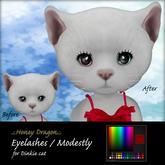 .:.H/D.:. Dinkie cat eyelashes C / Modestly [21FDM4]