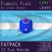 Kitty Pride Flag (Blue, Fatpack, 12 Versions) - Exclusive Original Design
