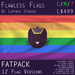 Kitty Pride Flag (Rainbow/Gay, Fatpack, 12 Versions) - Exclusive Original Design