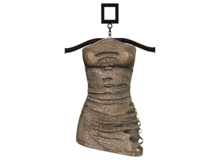RAPTURE-Dress Giuliana-Gold