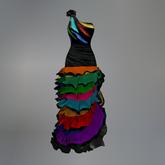 Rainbow Flamenco Maitreya Dress