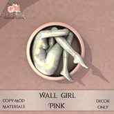Bloom! - Wall Girl Pink (Add me to Unpack)