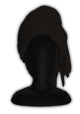 *CY* Shai . Blackberry . Head Towel // (Add)