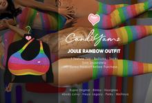 *CY* Joule . Rainbow . Top // (Add)