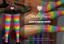 *CY* Joule . Rainbow . Socks // (Add)