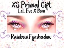 XS Primal Rainbow Eyeshadow Gift